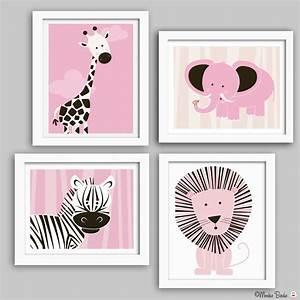 wall art for baby girl nursery thenurseries With nursery wall decor