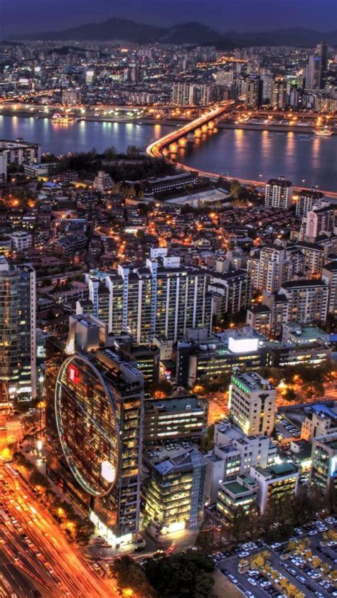 seoul south korea  city  love