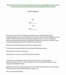Berliner Testament Beispiel : berliner testament muster vorlage word und pdf ~ Orissabook.com Haus und Dekorationen