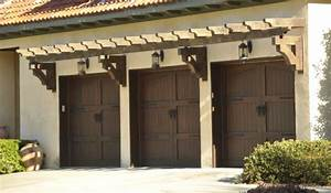 Residential Wood Garage Doors - Rustic - Garage Doors And