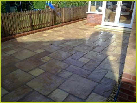 slabbed patio designs landscaping garden design redditch garden ideas