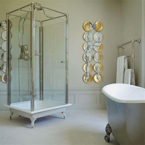 spittal freestanding glass shower  complete glass