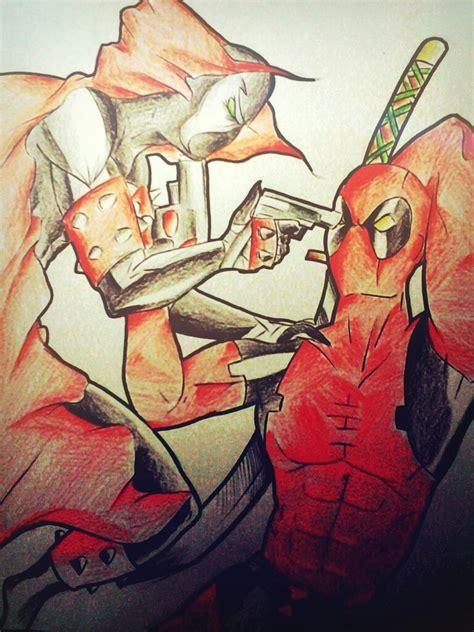 Deadpool Vs Spawn By Mauricio81551010 On Deviantart