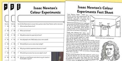 isaac newton biography worksheet worksheet activity sheet isaac newton differentiated reading