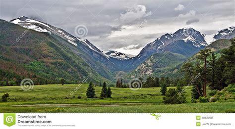 Rocky Mountain National Park Vista Royalty Free Stock ...