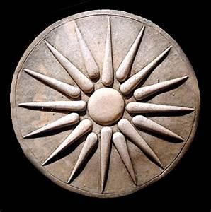 Ancient Macedonian Royal Symbol plaque