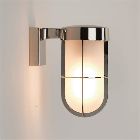 astro lighting 7848 cabin frosted glass ip44 wall light in