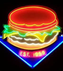 Neon Deco Chambre : neon burger thecoveteur art pinterest n on deco lumineuse et lits ~ Melissatoandfro.com Idées de Décoration