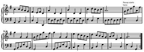 binary forms musical exle of bass chofollrega s