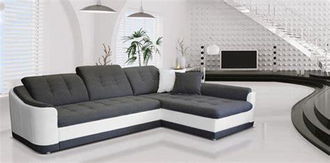 h et h canapé canapé d 39 angle convertible à droite bray blanc