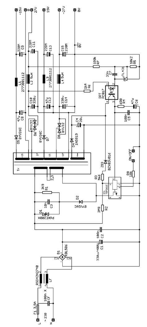 Top Amplifier Power Supply Class Smps