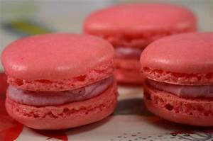 Raspberry Macarons Recipe Joyofbaking com *Video Recipe*