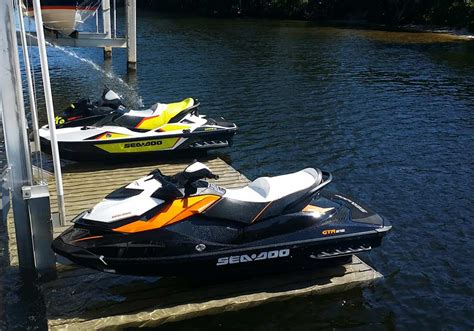 Sea Doo Boat Lift For Sale by Royal Palm Plaza Jet Ski Lifts All Power Marine Boat