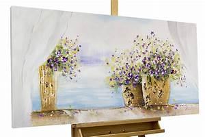 Blumen Gemälde In öl : acryl gem lde 39 blumen fensterbank 39 handgemalt leinwand ~ A.2002-acura-tl-radio.info Haus und Dekorationen