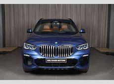 BMW X5 G05 mit V8Motor und M SportPaket in Phytonic Blue