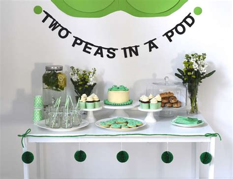 peas in a pod baby shower peas in a pod baby shower quot two peas in a pod a