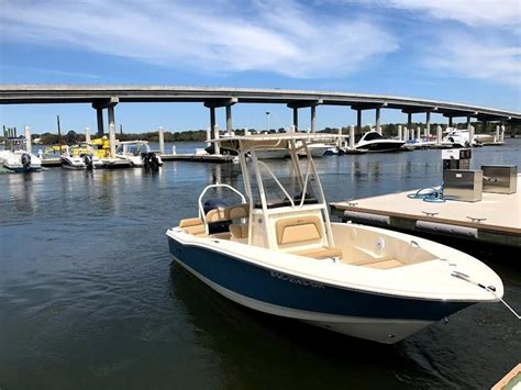Scout Boats 195 Sportfish For Sale by 2018 Used Scout 195 Sportfish Center Console Fishing Boat