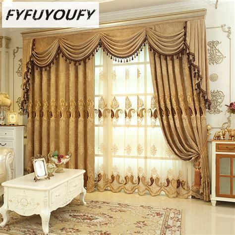 luxury villa curtains heavy flannelette curtains for