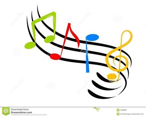 Music Notes Stock Illustration Illustration Of Stationary
