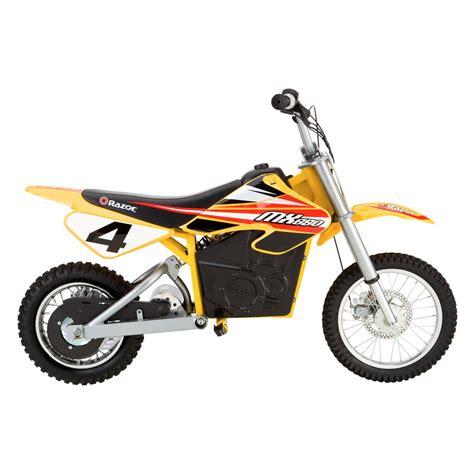electric motocross bikes razor 174 15165070 dirt rocket mx650 bike