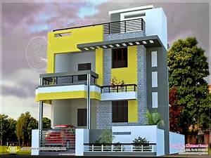 Modern Indian Home Design Small Modern House Exterior ...