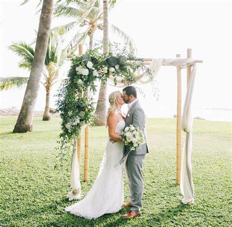 Romantic Hawaiian Plantation Wedding Jenn Bryan Aisle