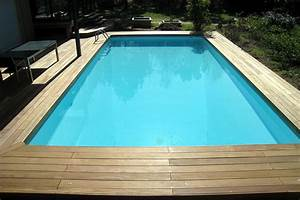 terrasse de piscine en bois atlubcom With lovely photo terrasse bois piscine 5 terrasses bois essonne artibois91