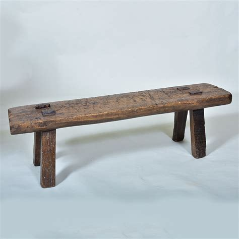 Early 19th Century Pig Bench  Elaine Phillips Antiques