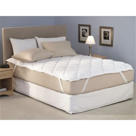 34125 king size bed topper luxury king size quilted microfibre mattress topper