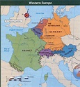 6 Most Important Regions of Western Europe