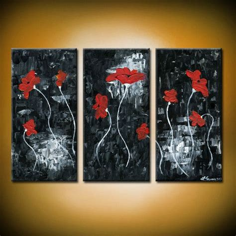 Abstract Acrylic Painting On Black Background by Blossom S Original Acrylic Abstract Painting