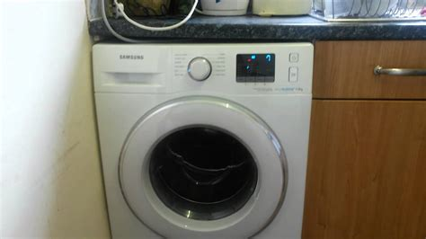 samsung washing machine noisy vibration spinning youtube