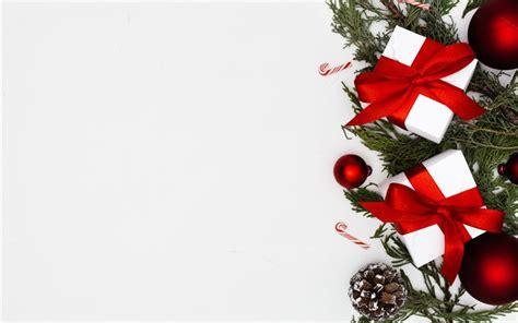 imagens feliz natal branco caixas de presentes