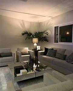 Plante De Salon : deco salon moderne simple ~ Teatrodelosmanantiales.com Idées de Décoration