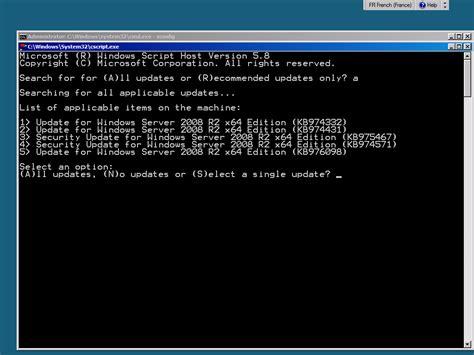 activer bureau à distance windows 7 configuration d un windows server 2008 r2 en mode