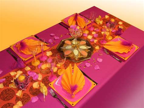 decoration de table  theme inde tables joliment