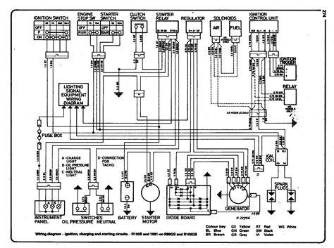 bmw r100 wiring diagram wiring diagram