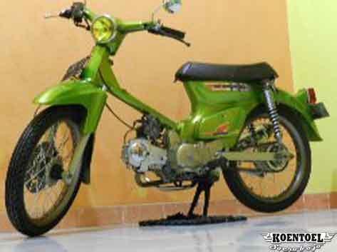 Honda Cup Modif by Modifikasi Honda Cub Surabaya