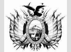 Dibujo De Escudo De Bolivia 8