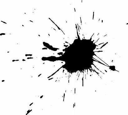 Splatter Paint Transparent Ink Splash Splat Splatters