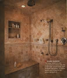 Shower Bathroom Ideas Our Master Bathroom Spa Shower Plans Times Guide To Log Homes