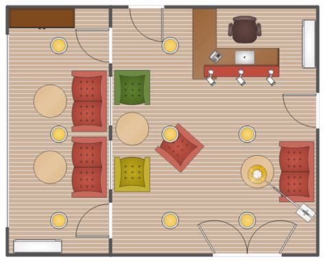 office reception plan office layout plans design elements office hallway front office