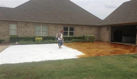 epoxy flooring exterior nwa dealpiggy interior exterior stained concrete or epoxy flooring