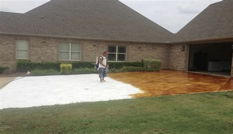 NWA DealPiggy   Interior, Exterior Stained Concrete or