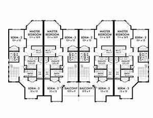 4 Story Multi Family House Plans