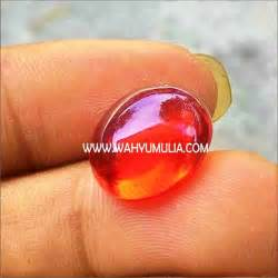Batu Cylope Merah Papua batu obsidian kode 285 wahyu mulia