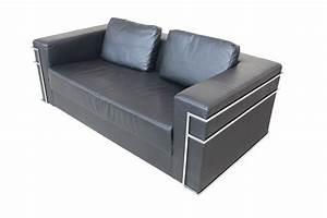 Kunstleder Couch Schwarz : sofa schwarz gebraucht kunstleder zeitlos kubische form ~ Indierocktalk.com Haus und Dekorationen