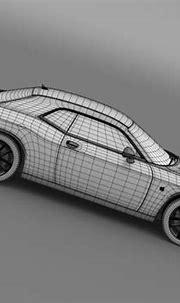 Dodge Challenger 392 HEMI Scat Pack Shaker... 3D Model ...