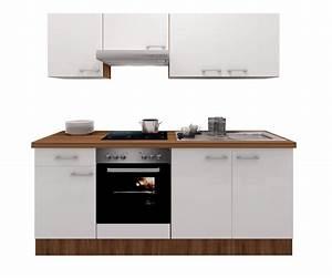 Küche 210 Cm Mit Geräten : k chenzeile cosmo k che mit e ger ten 11 teilig breite 210 cm wei k che k chenzeilen ~ Indierocktalk.com Haus und Dekorationen