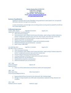 resume summary of qualifications exles career summary resume